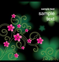 blend green vector image vector image