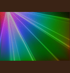 Colorful disco light background vector