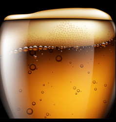 Abstract beer background highly realistic with vector
