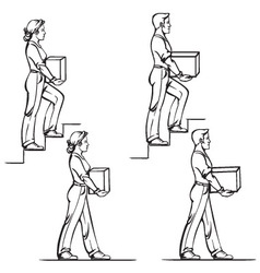 Carrying weights vector