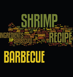 Barbecue smoker text background word cloud concept vector