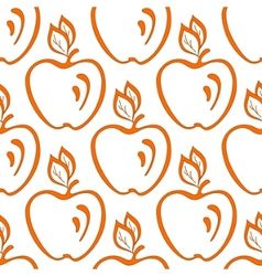 background apples vector image vector image