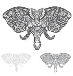 Elephant Head vector image vector image