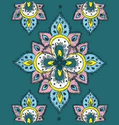 ethnic design vector image