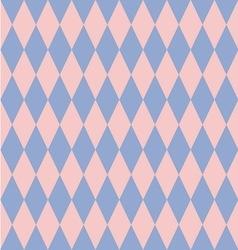 Rose quartz and serenity rhombus backdrop vector
