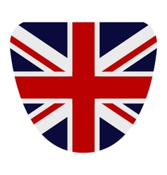 Flag of britain vector
