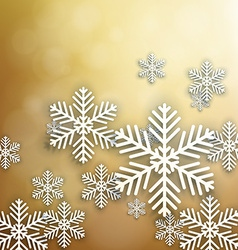 Set of golden christmas background vector
