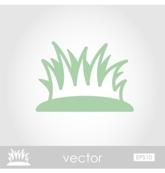 Grass icon vector