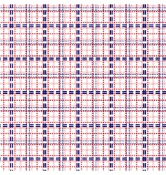 Seamless mesh pattern in blue and red vector