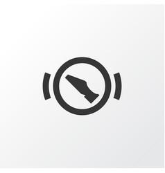 Stop icon symbol premium quality isolated press vector