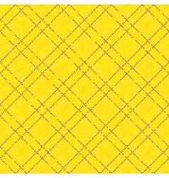 Yellow seamless mesh pattern vector
