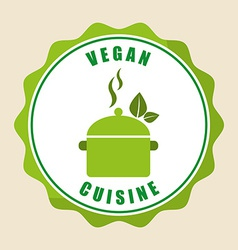 Vegan menu vector