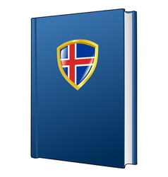 Constitution of iceland vector