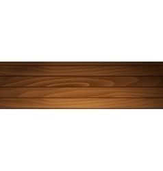 Banner of brown boards vector