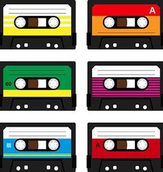 Cassette tapes vector
