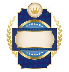 Luxury heraldry frames vector image