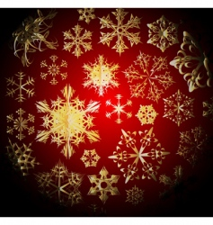 winter dark Christmas pattern vector image vector image