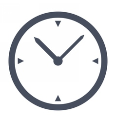 Simple classic clock vector
