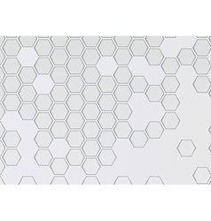 Transparent layered background with hexagons vector