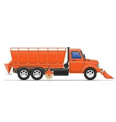 cargo truck 19 vector image vector image