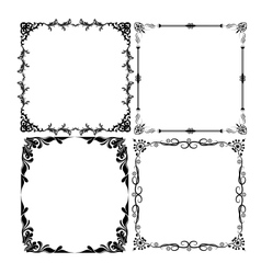frames set vector image