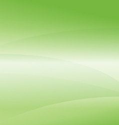 Green Light Wave Abstract Background vector image vector image