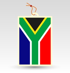 south african made in tag vector image