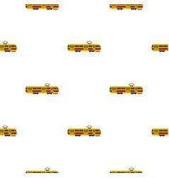 Tram pattern flat vector