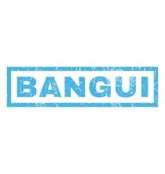 Bangui rubber stamp vector