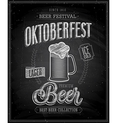 Octoberfest chalk vector