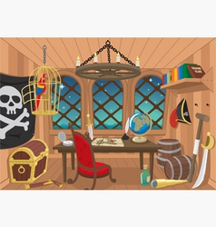 captain cabin vector image