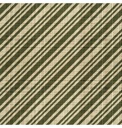Decorative striped textured textile print vector