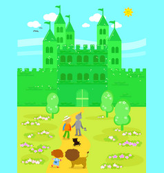 Wonderful wizard of oz 05 the emerald castle vector