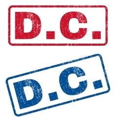 DC Rubber Stamps vector image