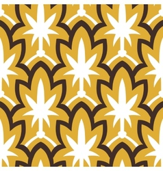 Vintage hand drawn art deco pattern vector