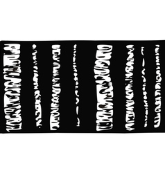 Birch tree black and white vector