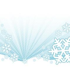 Snow falling vector
