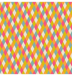 Abstract seamless repeat pattern with rhombs vector