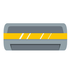 Cool and cold climate control system icon isolated vector