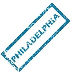 Philadelphia rubber stamp vector