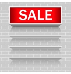 Discount warning messages Sale Warning Sealves vector image