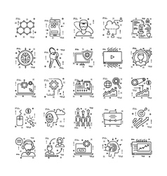 Line-icons-with-detail-11 vector