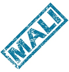 Mali rubber stamp vector