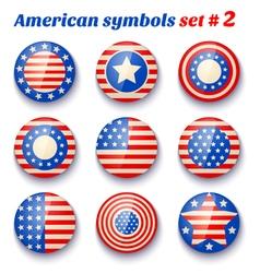 American symbols set2 vector