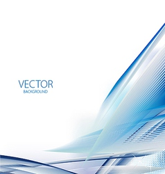 Abstract blue business vector image