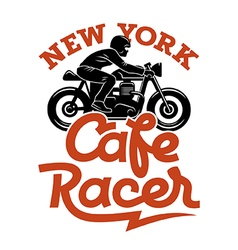 Cafe racer 004 vector