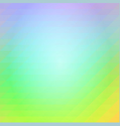 Purple blue yellow rows of triangles background vector