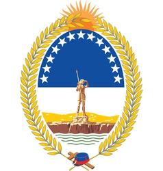 Rio negro province vector