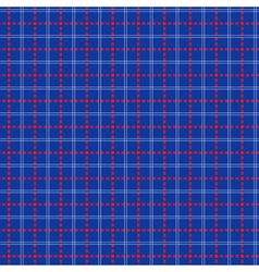 Seamless mesh pattern over blue vector image vector image