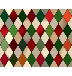 Seamless rhomb harlequin vector